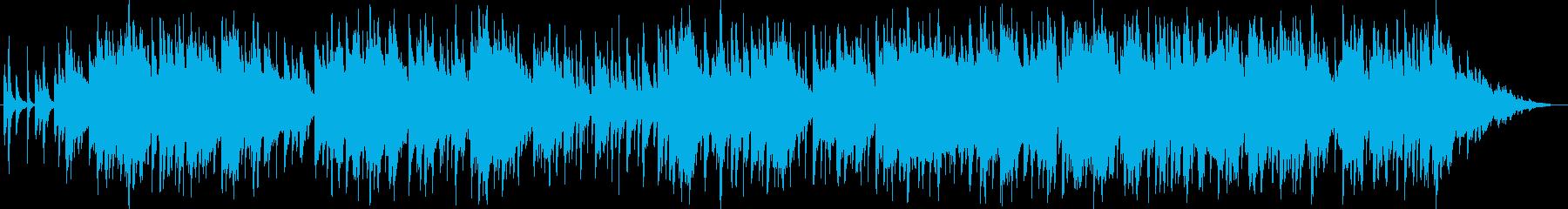 平凡平和 日本の暮らし 和風バラード 琴の再生済みの波形