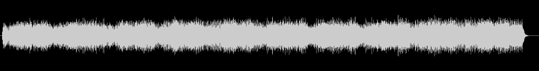 独創的な世界観のあるハウス調電子音の未再生の波形