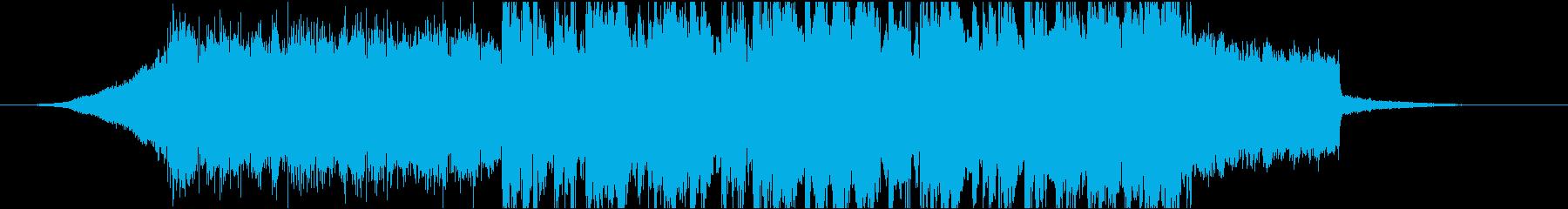 レース、ゲーム向けのデジタルロックの再生済みの波形