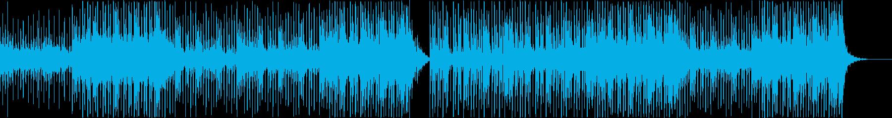 ハープ中心の爽やかで明るいR&B系BGMの再生済みの波形