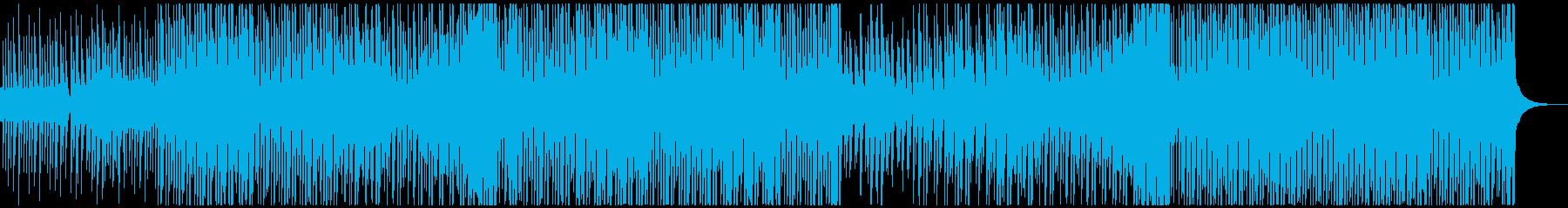 ハッピーデイの再生済みの波形