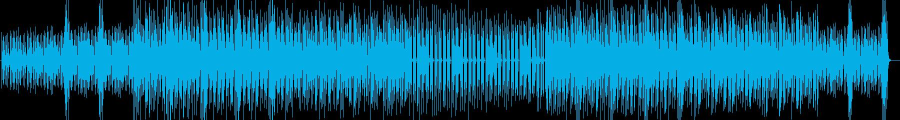 赤ちゃんのテーマソングの再生済みの波形