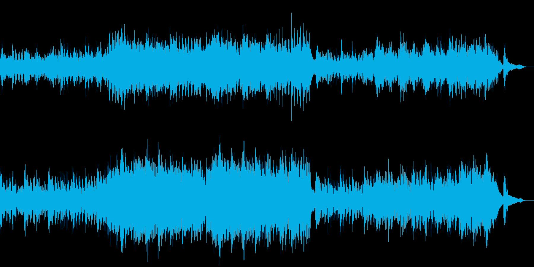 ピアノソロ 清らか 神秘的 水の流れの再生済みの波形