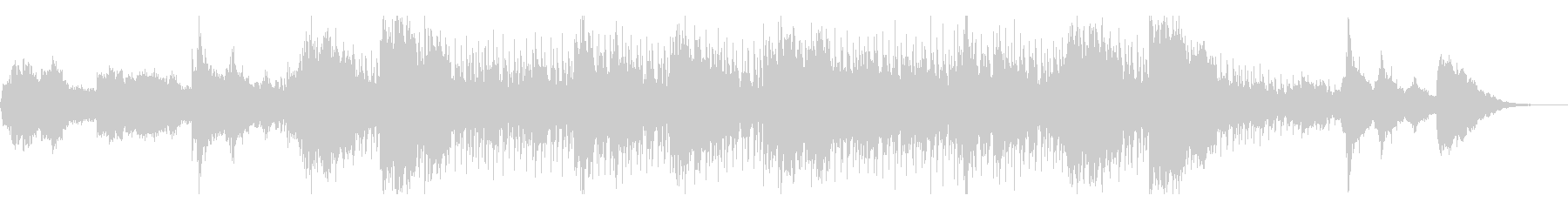 ダークでホラー向けなテクスチャの未再生の波形