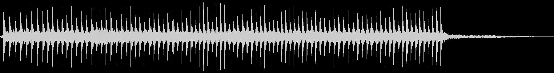 建設中のロックブレーカー(油圧)の未再生の波形