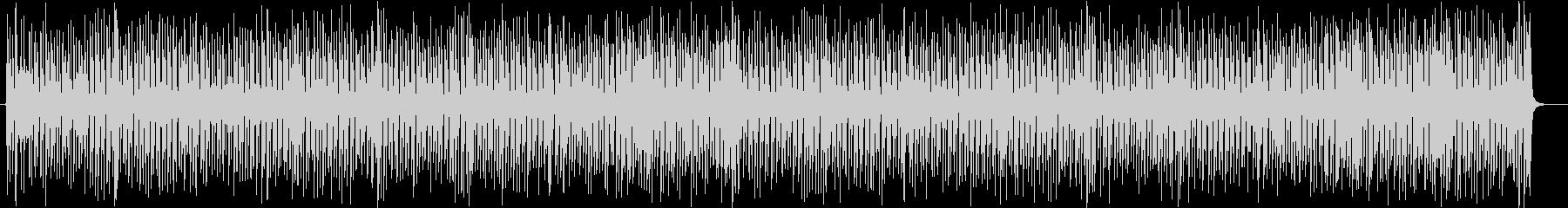 チェイスシーンのジプシージャズ※伴奏版の未再生の波形