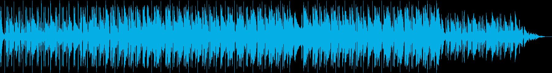 夜の街 ベース lo-fiの再生済みの波形