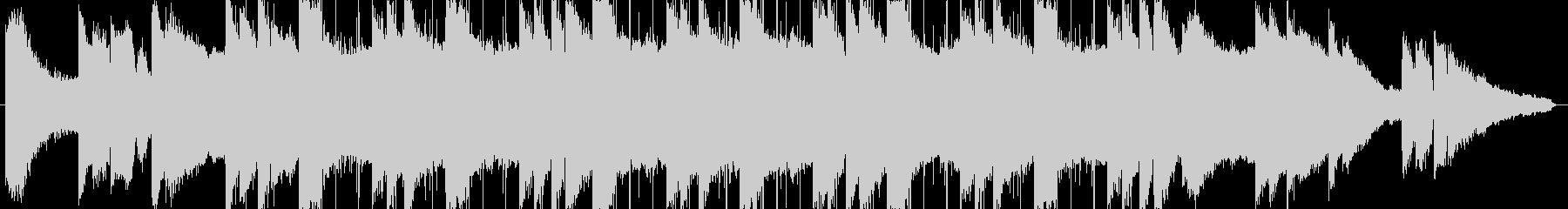 lofi風しっとりとしたピアノBGM3の未再生の波形