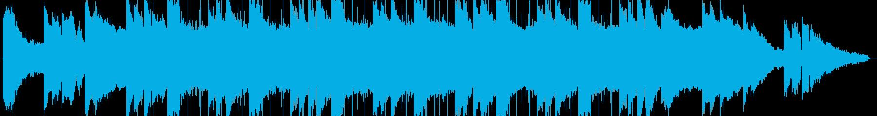 lofi風しっとりとしたピアノBGM3の再生済みの波形