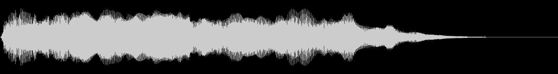 スムーズなシンセアクセント8の未再生の波形