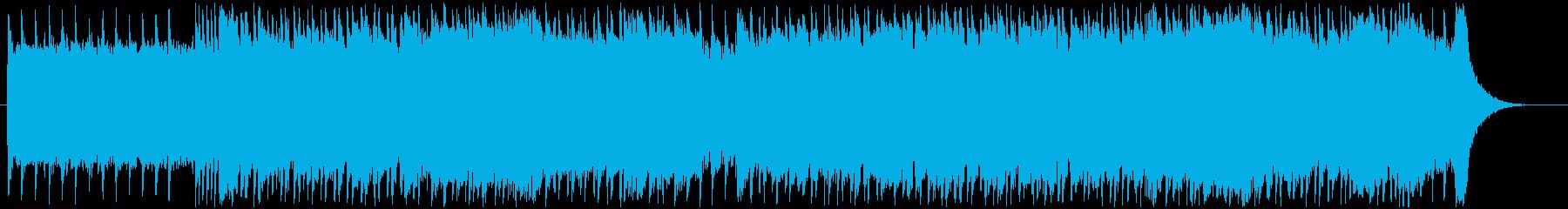 ざらざらした、ブルージーなシャッフ...の再生済みの波形