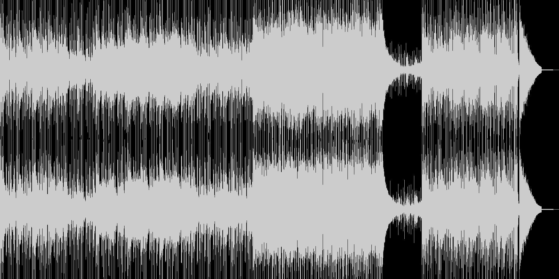 肉弾戦・真剣勝負を想定したロック 短尺の未再生の波形