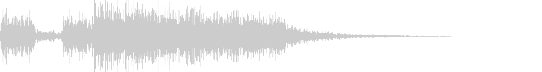 レベルアップ(テッテレー)の未再生の波形