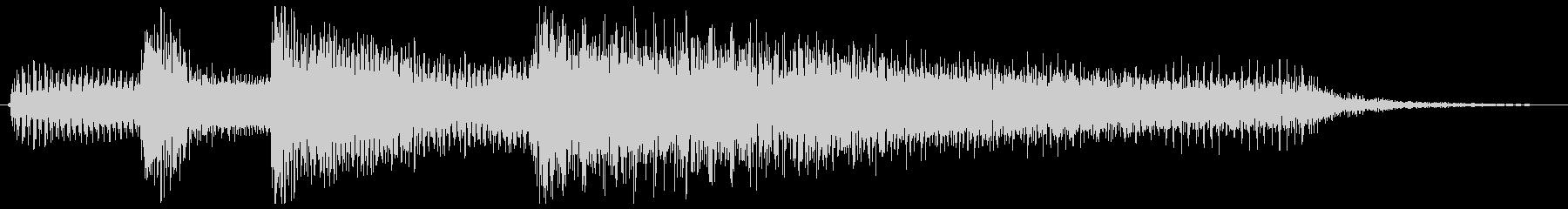 3拍子ワルツ クラシカルなジングルの未再生の波形