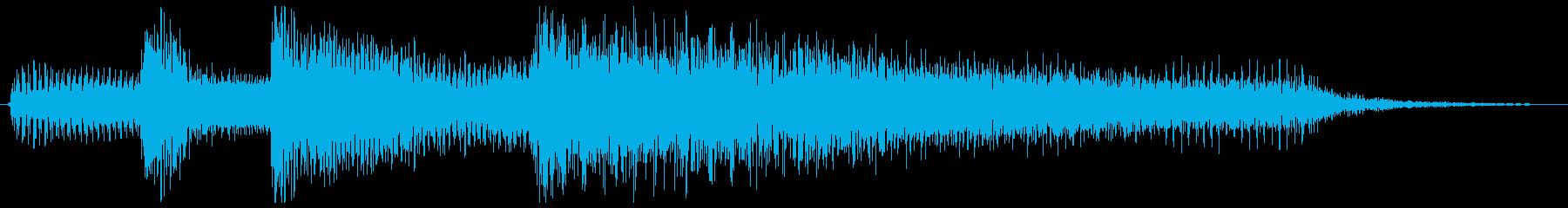 3拍子ワルツ クラシカルなジングルの再生済みの波形