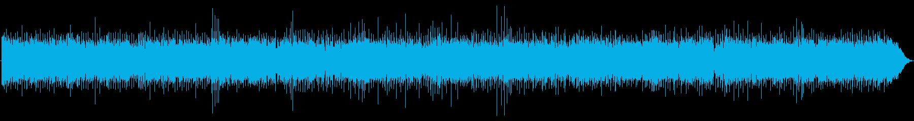 ストレートなロックの再生済みの波形