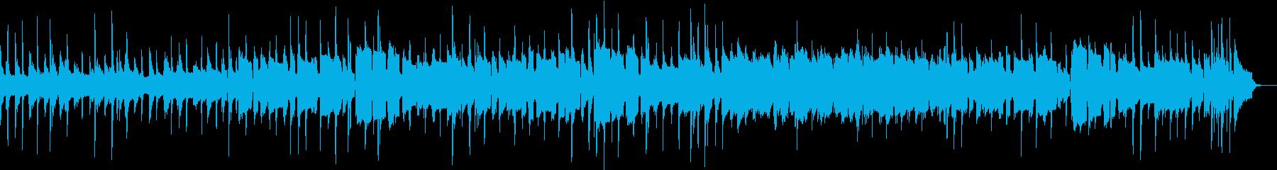 陽気なジャズ |ピアノ&トランペットの再生済みの波形