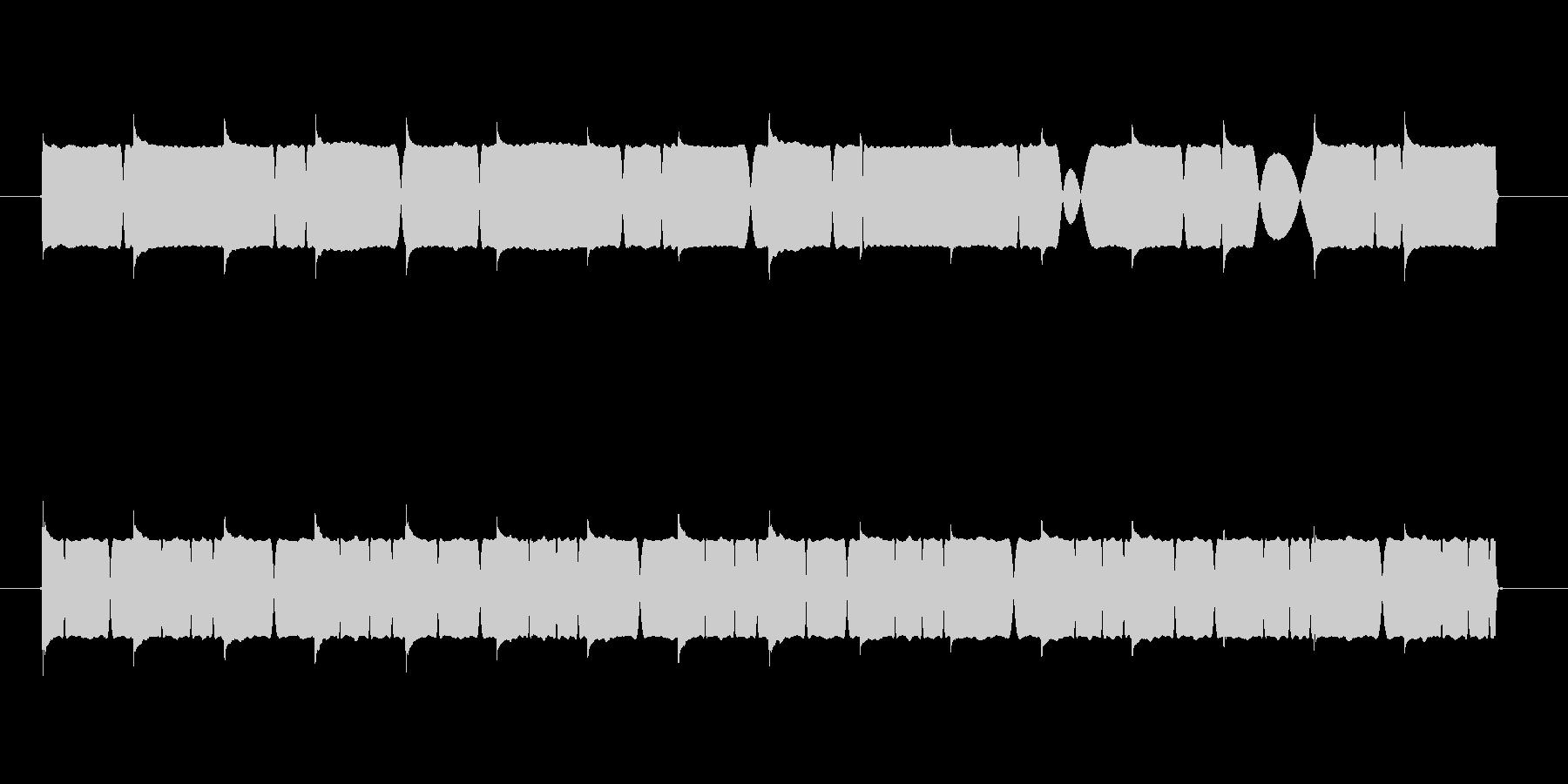 電子音系サイレンの未再生の波形