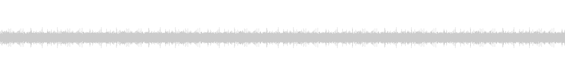 水の流れる音(水しぶき音)の未再生の波形