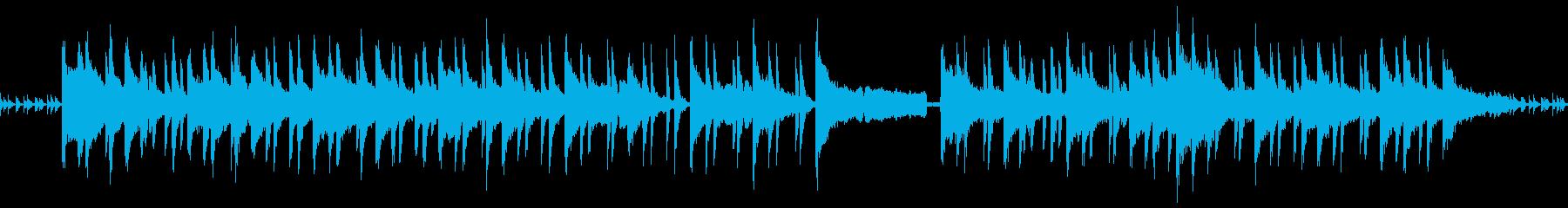 浮遊感が幻想的な声入りピアノアンビエントの再生済みの波形