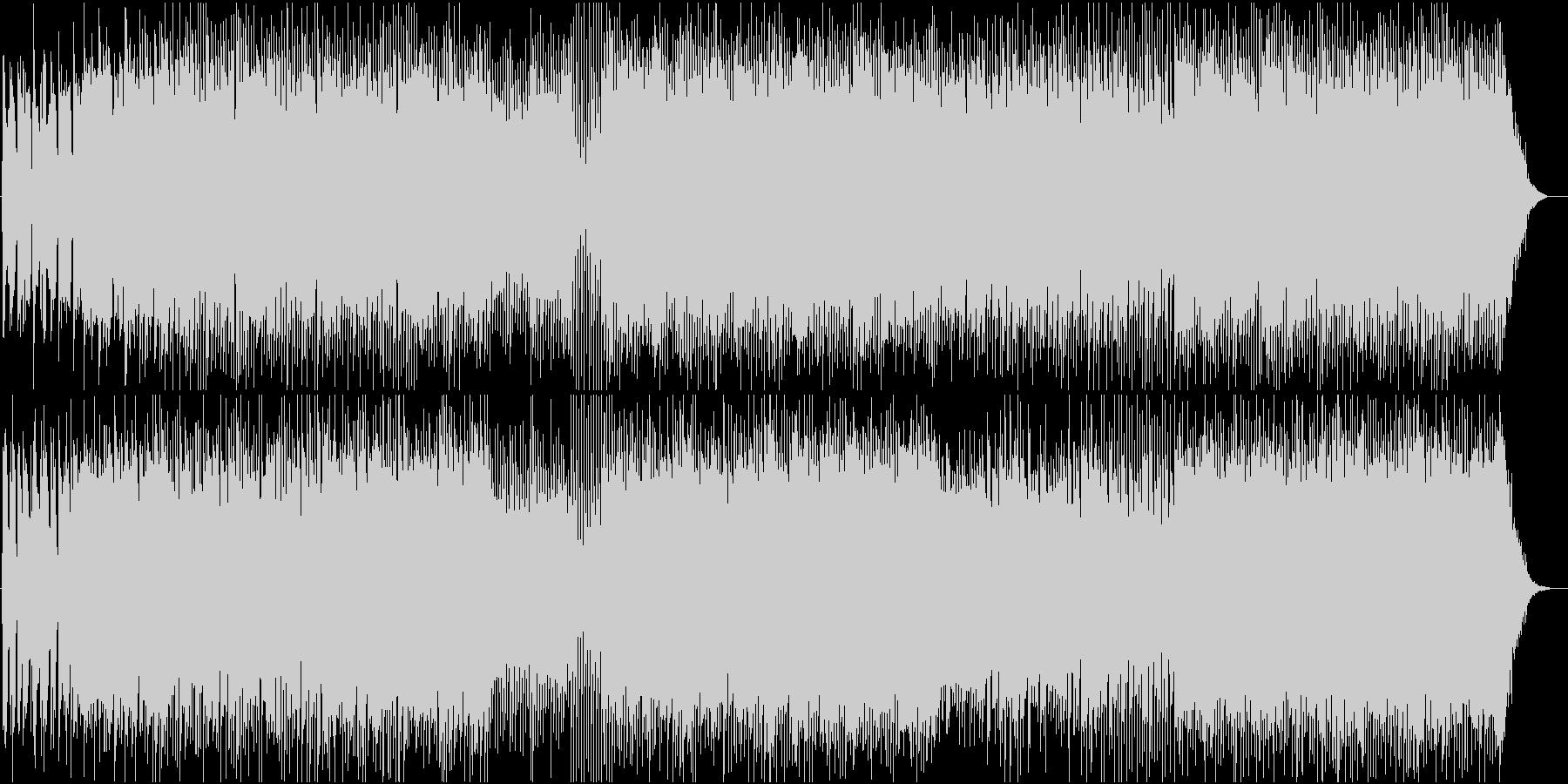 ポジティブで少し切ないギターポップの未再生の波形