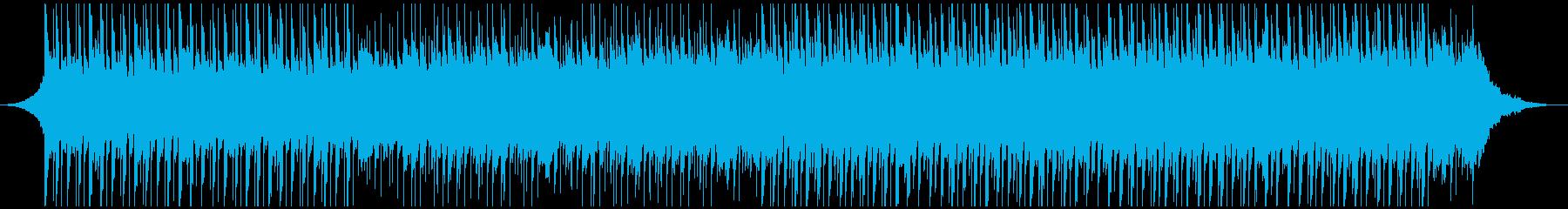 感動的な高揚(ショート)の再生済みの波形