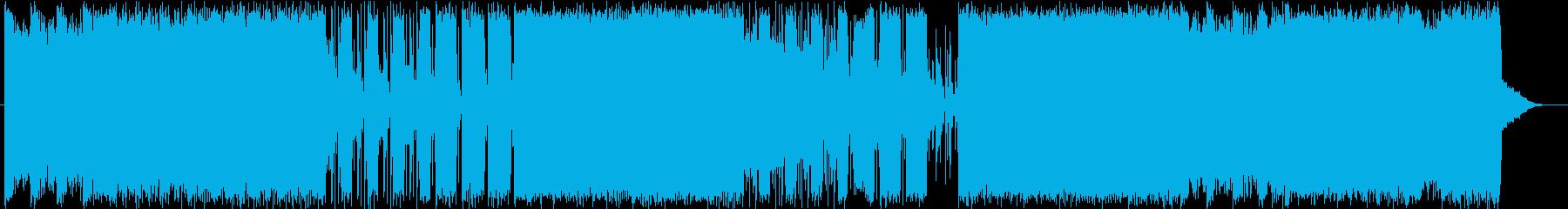 メタル 積極的 焦り ワイルド 燃...の再生済みの波形