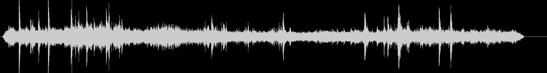 チリカフェ-声の未再生の波形