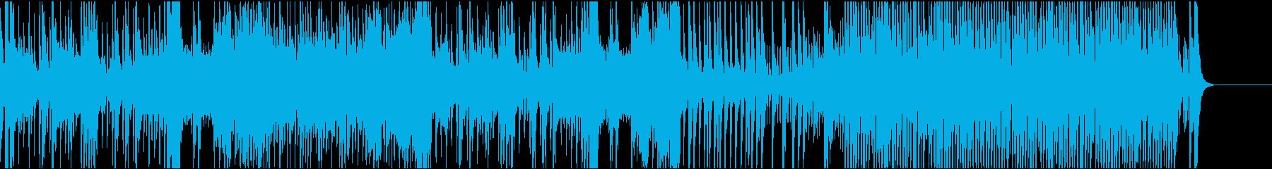 和風 珍道中の再生済みの波形