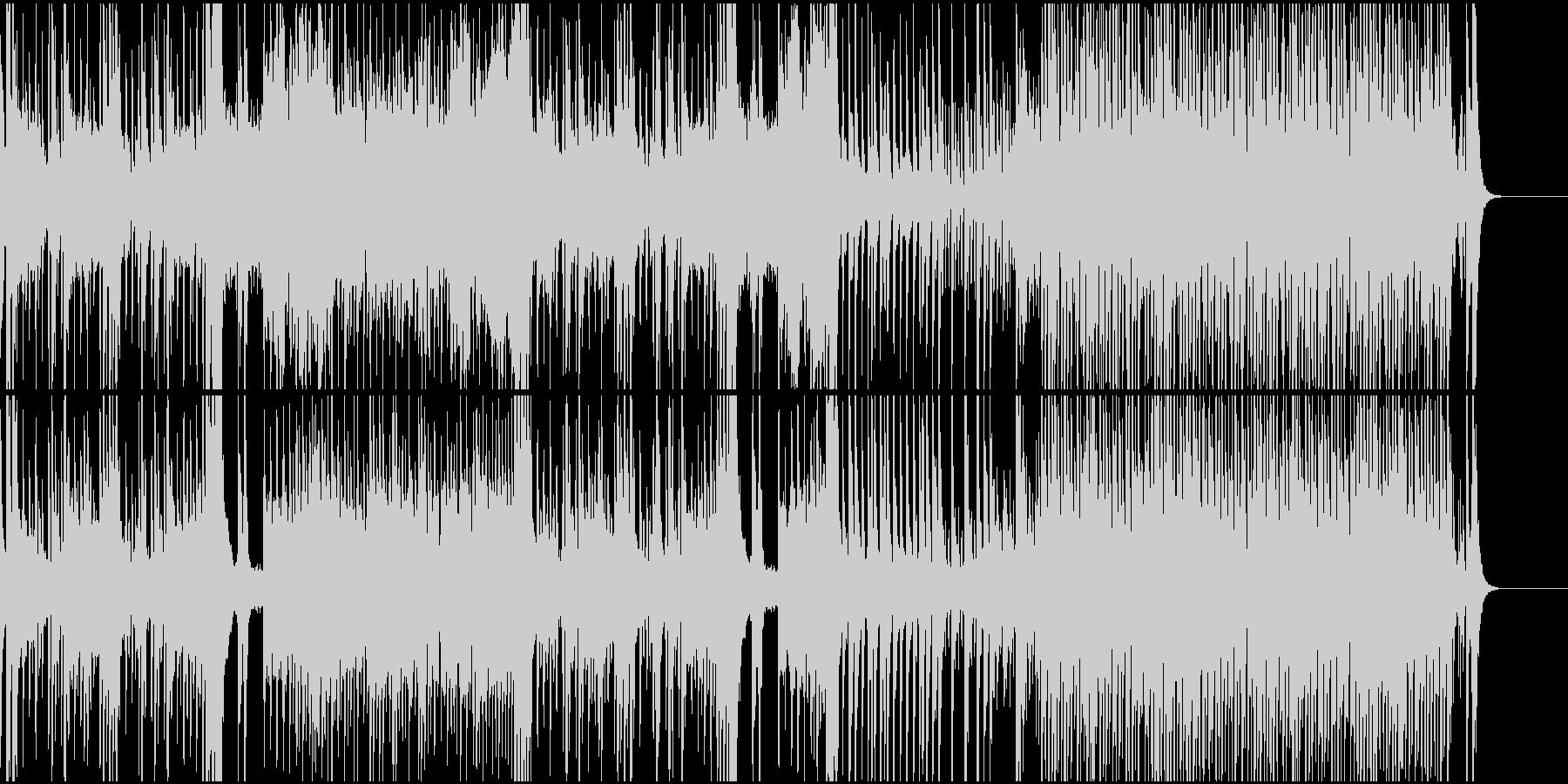 和風 珍道中の未再生の波形