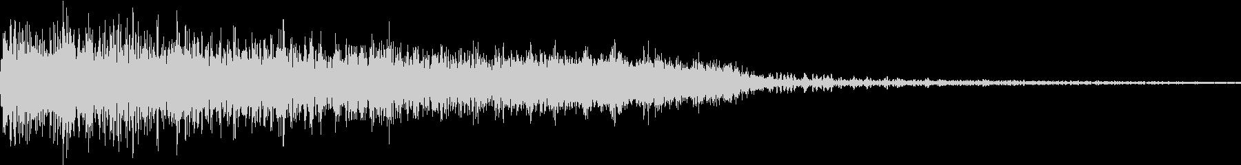 衝撃 ギター インパクト ノイズ 03の未再生の波形