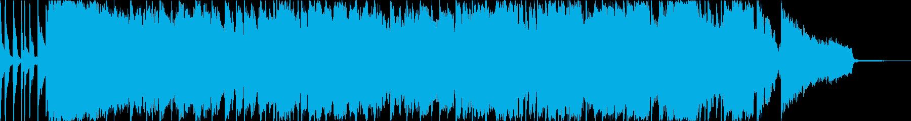 女性ボーカルの大人っぽいおしゃれソングの再生済みの波形