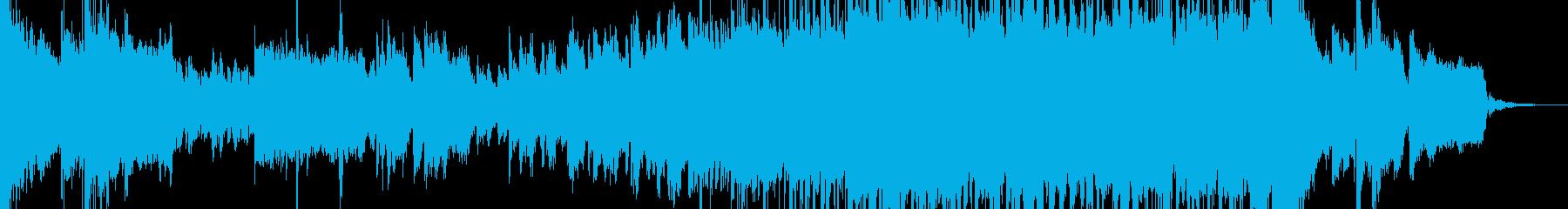80年代風なサックスメロディーの曲の再生済みの波形