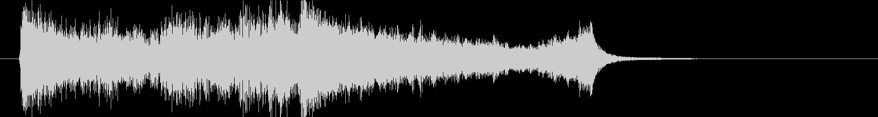 壮大、感動のオーケストラOPジングルcの未再生の波形