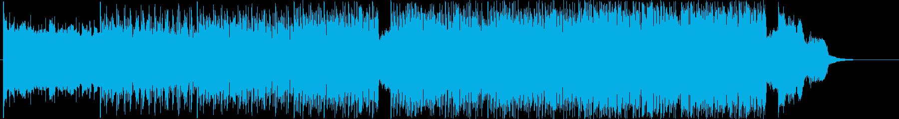 うねるようなベースラインのクラブ音楽。の再生済みの波形
