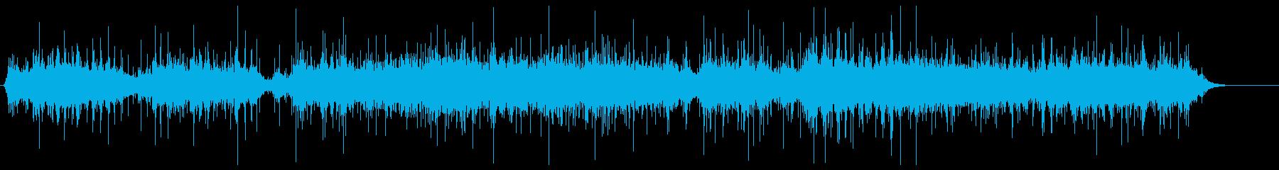 カラカラ 木の実 生演奏 リバーブの再生済みの波形
