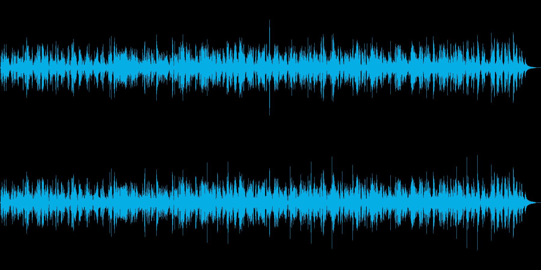 大人の色気漂うジャズサックスBGMの再生済みの波形