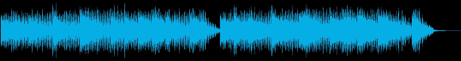 サスペンス・ドラマのタイトル曲の再生済みの波形