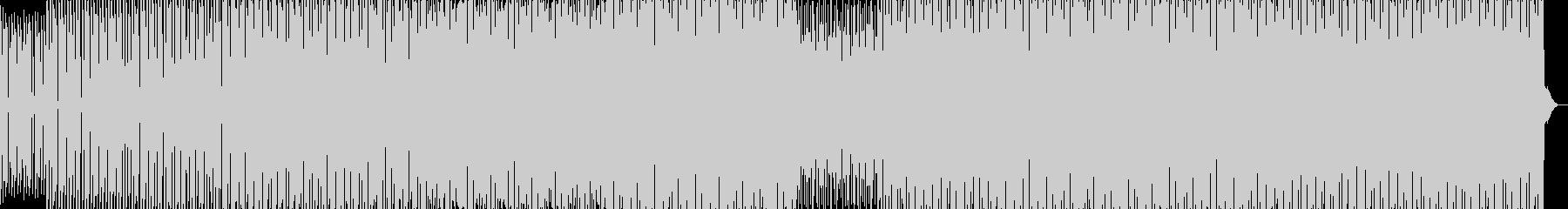 スピード感デトロイトテックハウストランスの未再生の波形