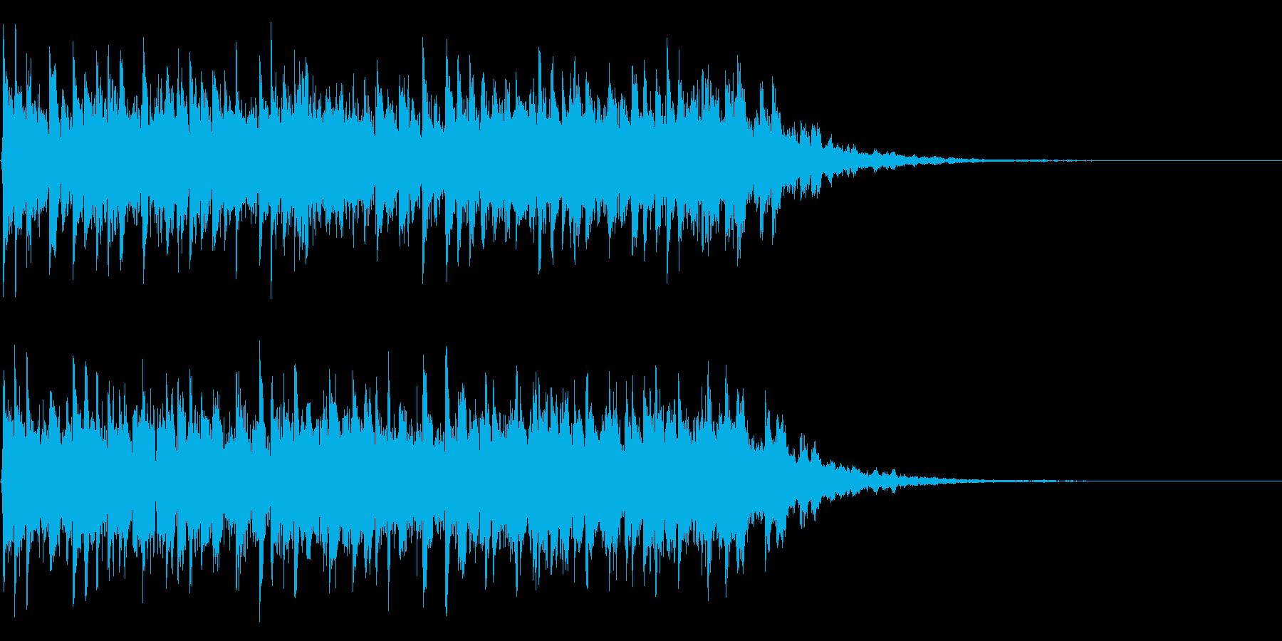 緊迫の審判が下されるテクノEDMジングルの再生済みの波形