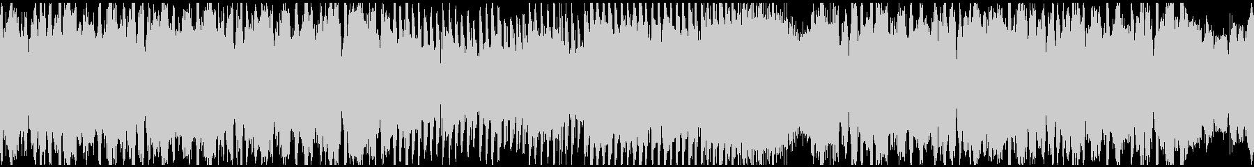 フューチャーベース+和楽器! ※ループ版の未再生の波形