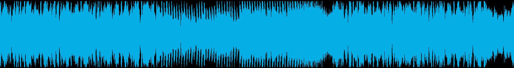 フューチャーベース+和楽器! ※ループ版の再生済みの波形