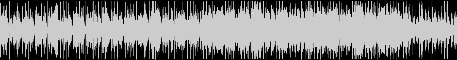 定番曲「スタイリッシュ」B:ループの未再生の波形