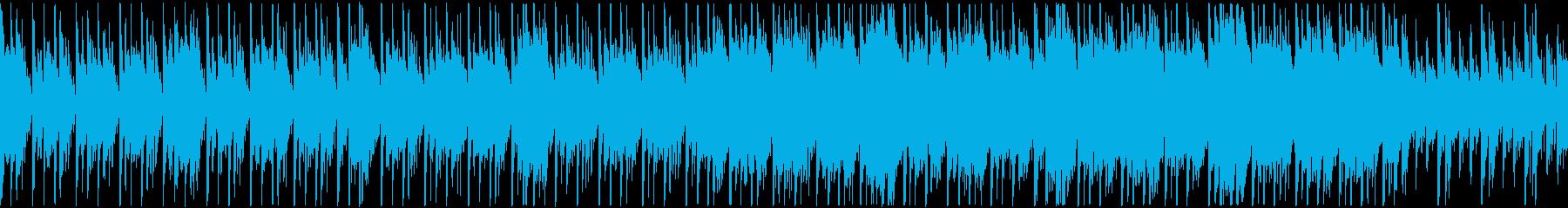定番曲「スタイリッシュ」B:ループの再生済みの波形