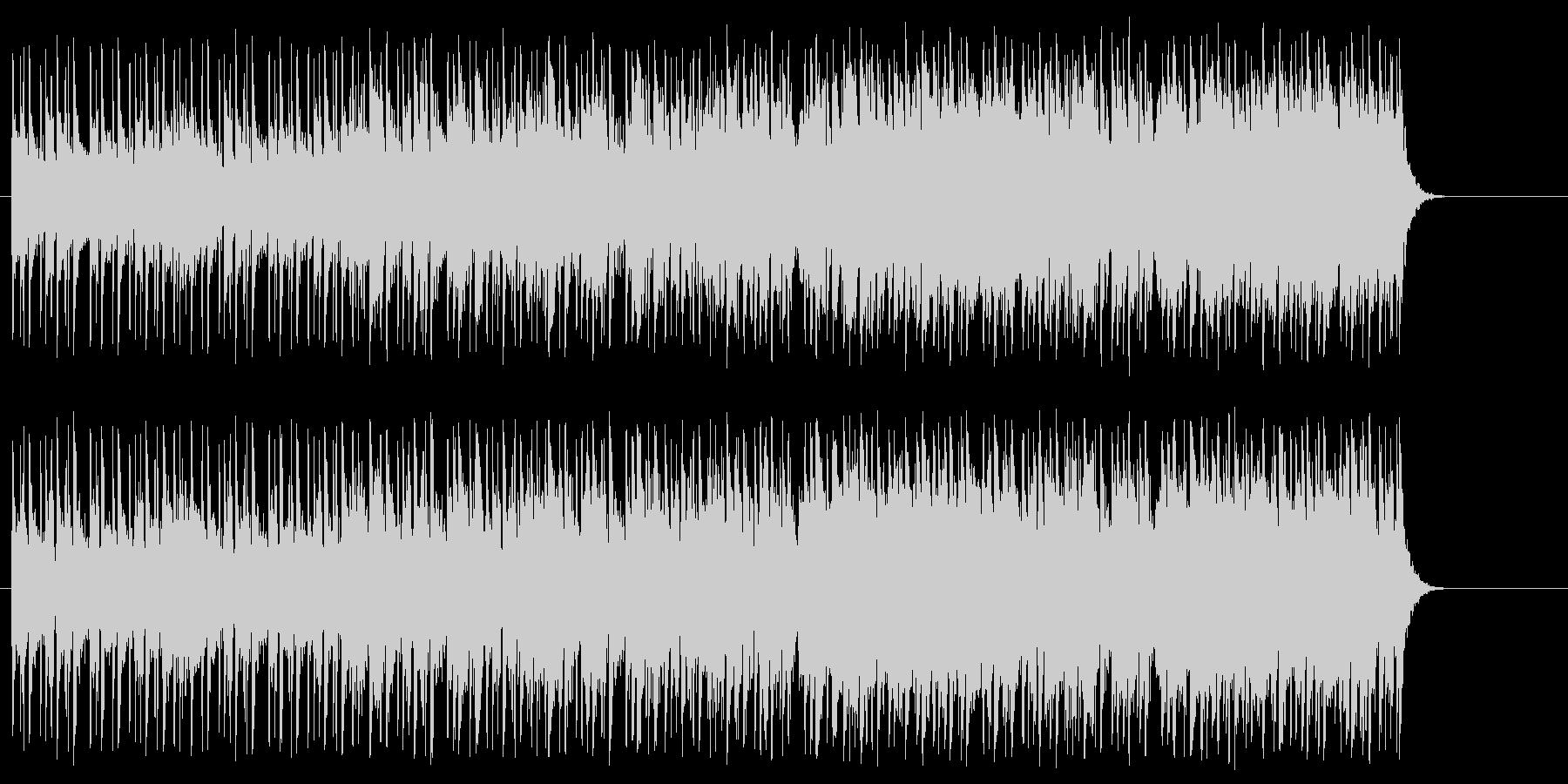 新生活へと出発するポップ(イントロ~…)の未再生の波形