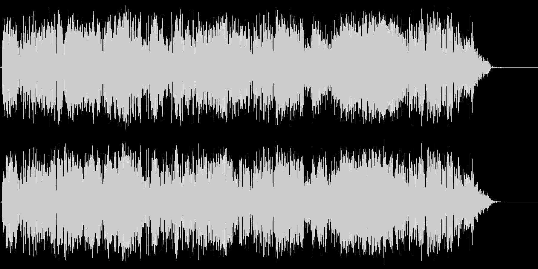 パルスを確認するの未再生の波形