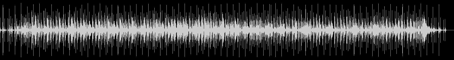 アコースティックなレゲエポップスの未再生の波形