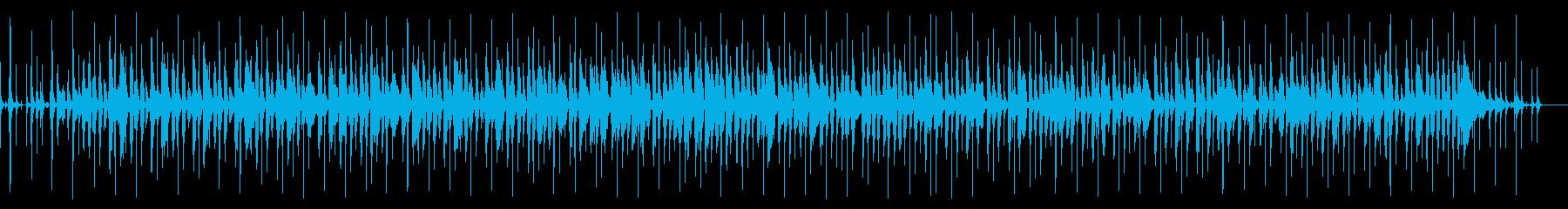 アコースティックなレゲエポップスの再生済みの波形