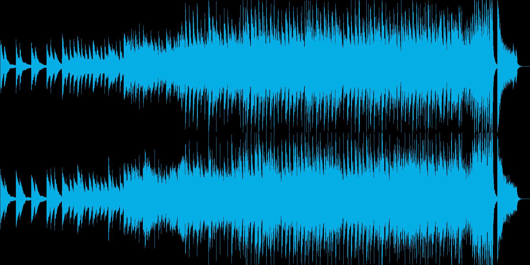 感動的・達成感・ピアノ・映像・イベント用の再生済みの波形