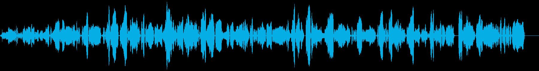 ゾンビのうめき声、独身女性3の再生済みの波形